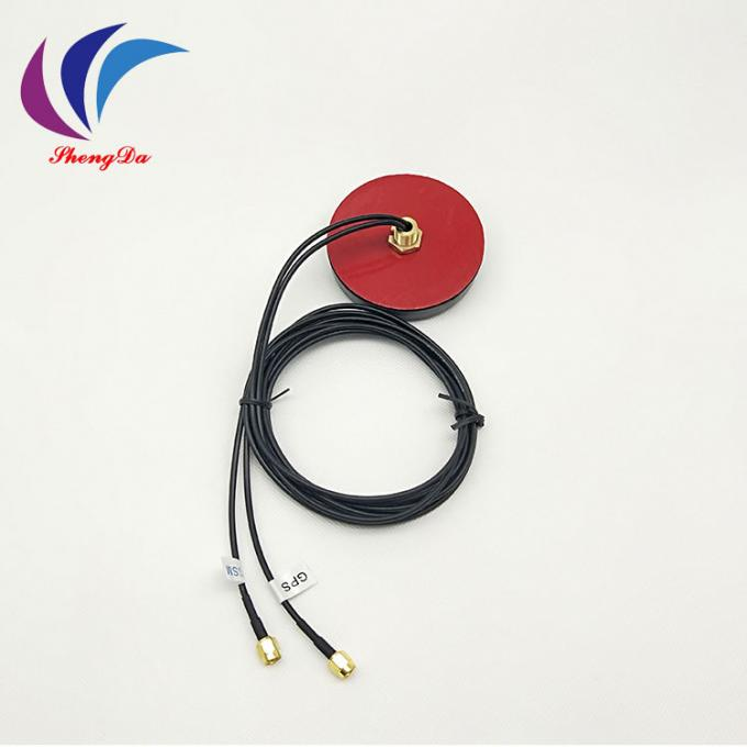 GSM GPS CDMA Two In One antenna 900-1800MHZ SMA male Connector